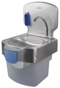 Lave mains pour la restauration sanipousse - Commande femorale pour lave main ...