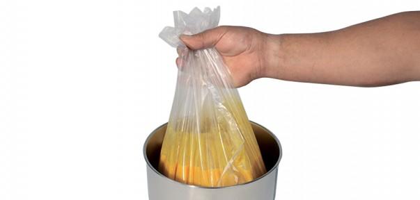 Les sacs de cuisson