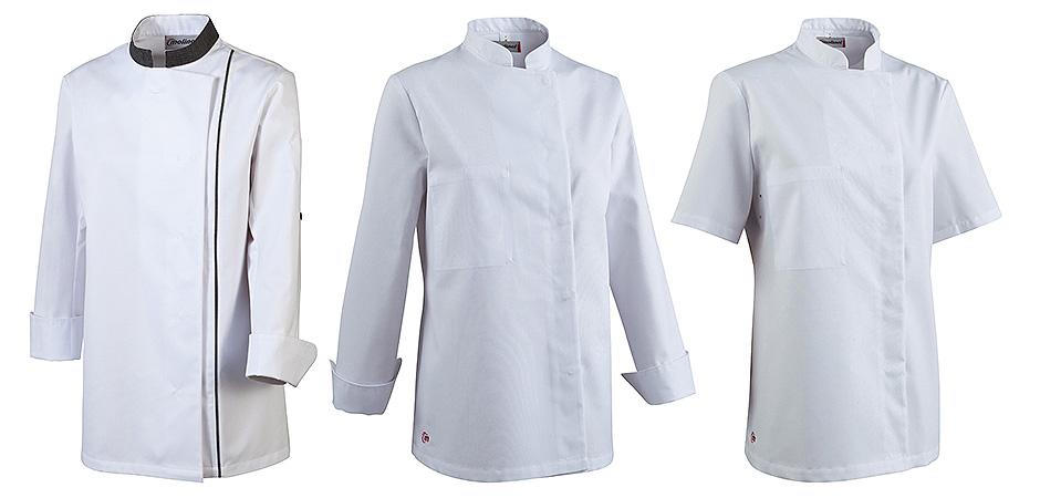 vestes de cuisine blanches femme