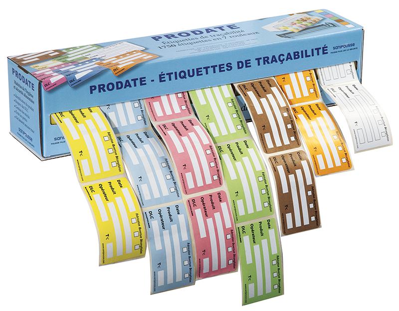 Les étiquettes Prodate sont la solution idéale pour assurer la traçabilité et le suivi des produits de votre cuisine.