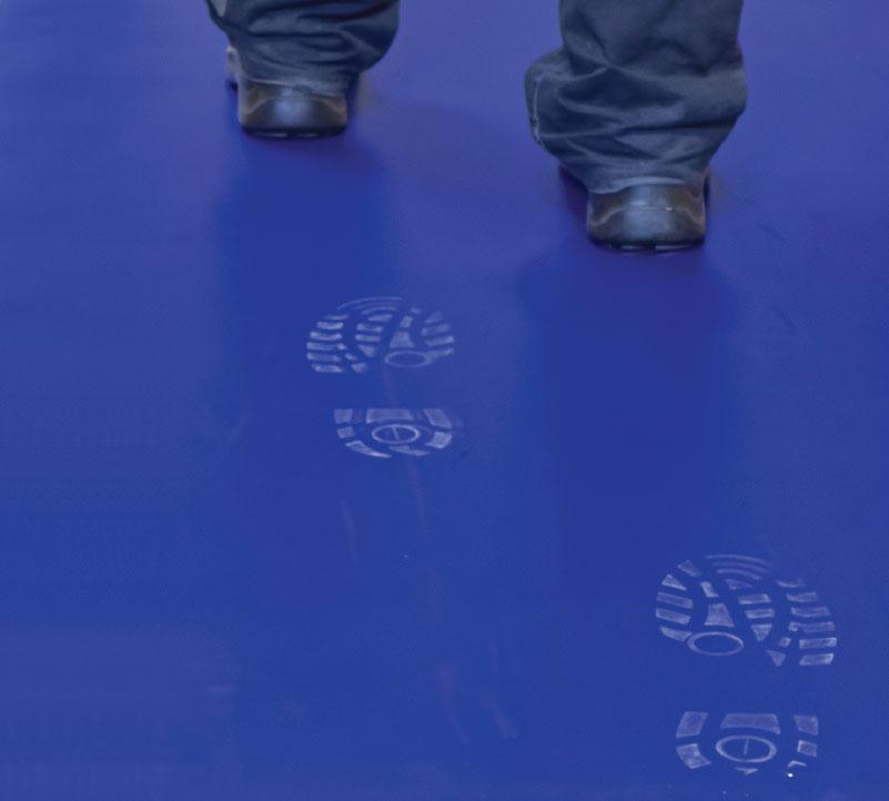 Le tapis de désinfection et de décontamination Decontasol réduit les risques peut même désinfecter vos roues de chariots !