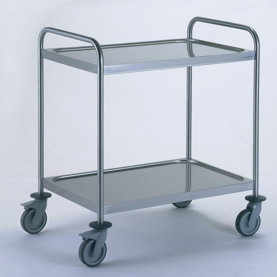 Chariot d barrasser mat riel de cuisine professionnelle for Chariot inox cuisine professionnelle