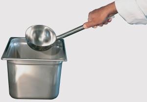 Louche pour cuisine professionnelle et restauration Sanipousse