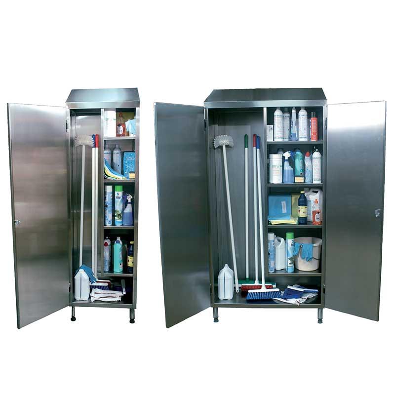 Armoire stockage produits entretien cuisine sanipousse for Produit cuisine