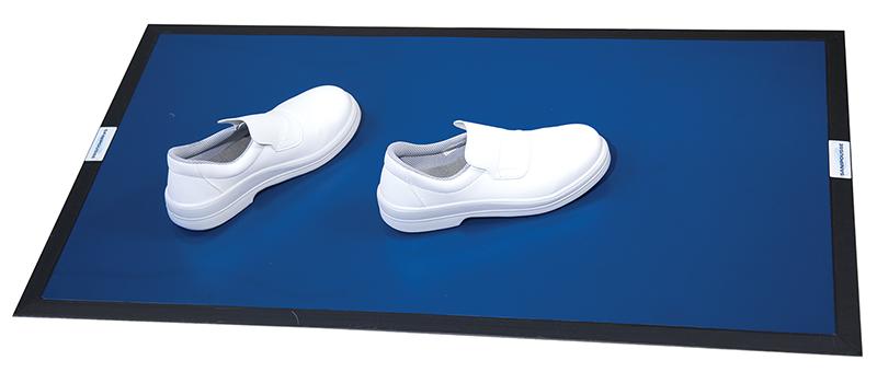 décontamination des semelles des chaussures en restauration