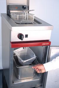 filtre à huile de friture manuel pour les friteuses la restauration