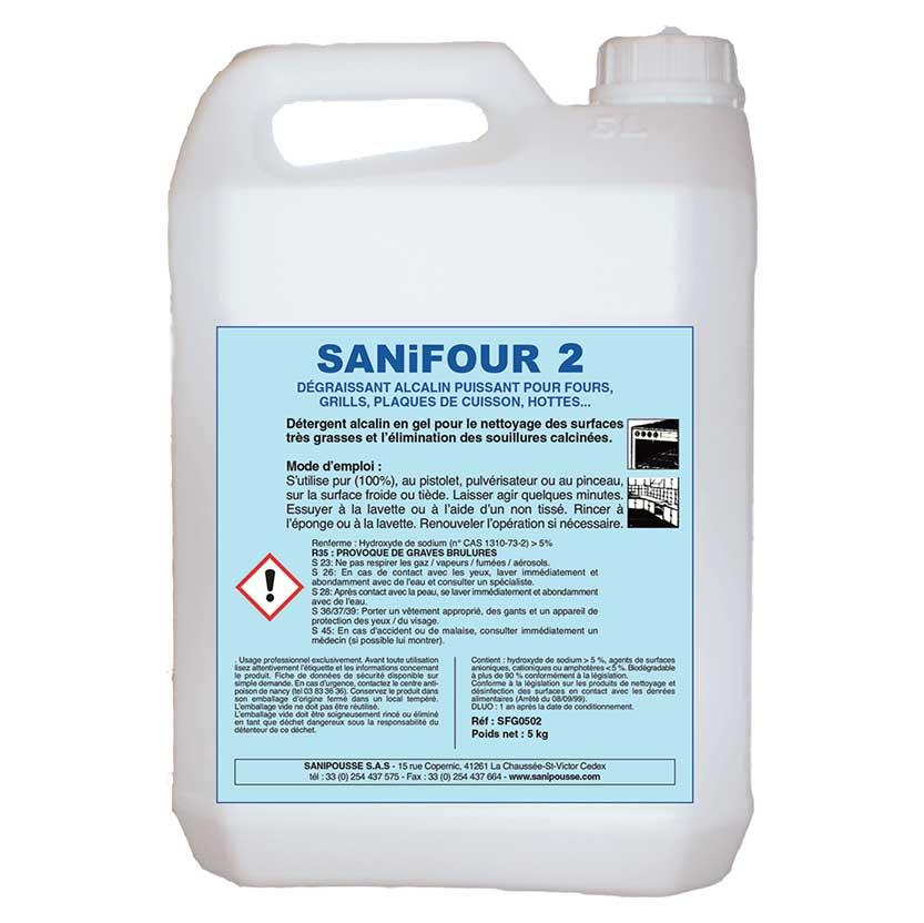 Sanifour nettoyage four restauration