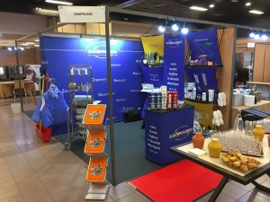 Le stand Sanipousse